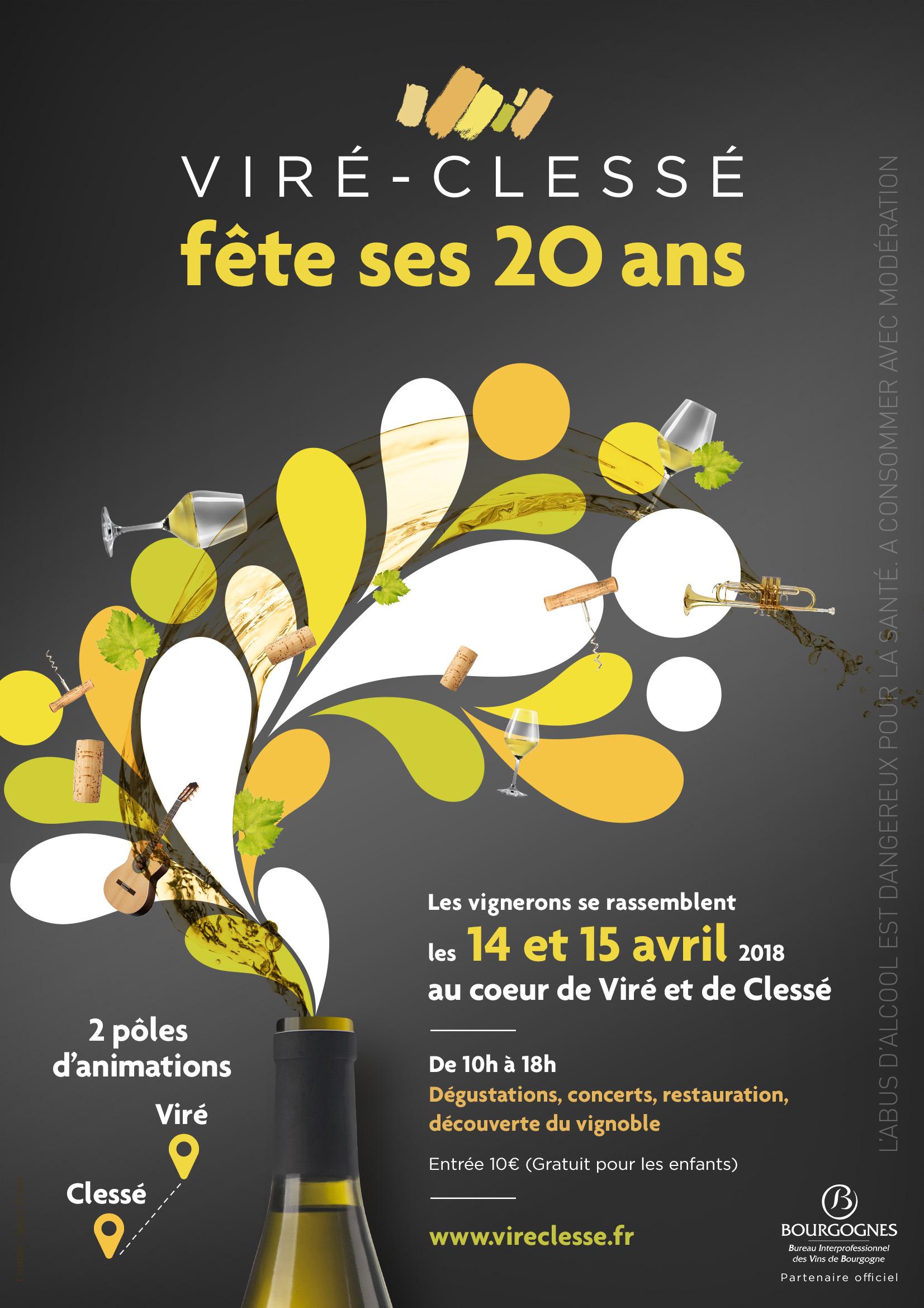 Le Cru Viré-Clessé fête ses 20 ans !